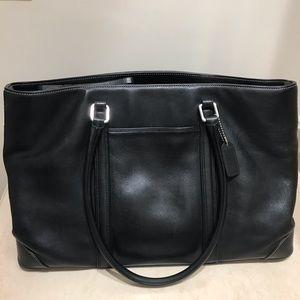 COACH Leather Black Handbag
